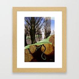 Avon River, Christchurch Framed Art Print