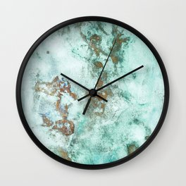 INKED INCEPTION - GOLD & ICE Wall Clock
