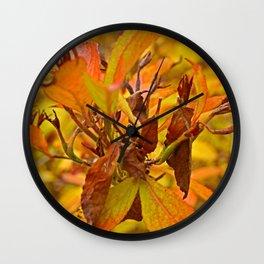 Autumn colour Wall Clock
