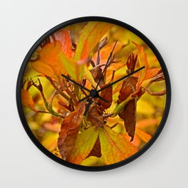 Autumn colour Wall Clock