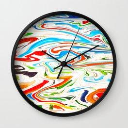 Marbled III Wall Clock