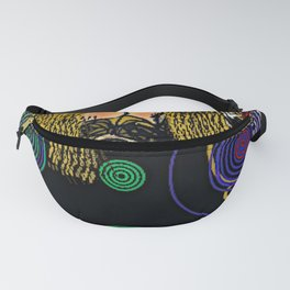 Don't Worry be Hippie Fanny Pack