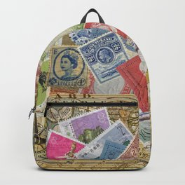 World Stamps Backpack