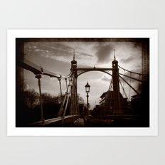 Battersea Bridge Art Print