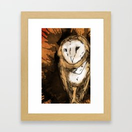 Hooters Framed Art Print