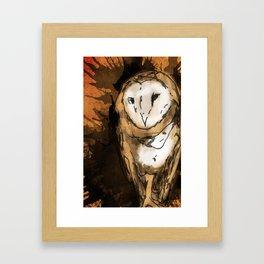 Hooters Framed Art Print