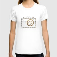 vintage camera T-shirts featuring Camera by Little Owl Oddities