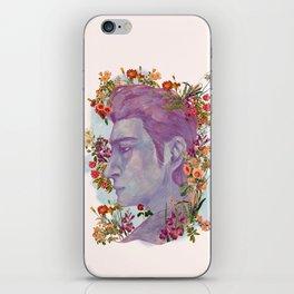 STURDMAN WITH FLOWER DECORATION iPhone Skin