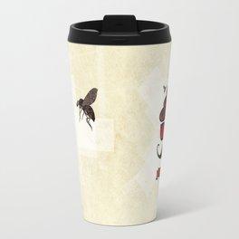 Hipster Hat Travel Mug