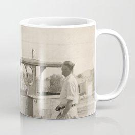 Man's Best Friend - Vintage Photo Coffee Mug