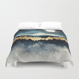 Indigo Night Duvet Cover