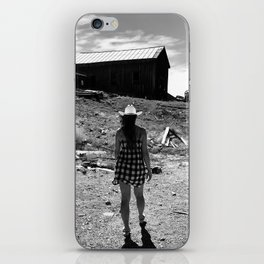 Country girl iPhone Skin