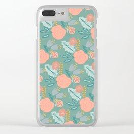 Springtime Bouquet 2 Clear iPhone Case