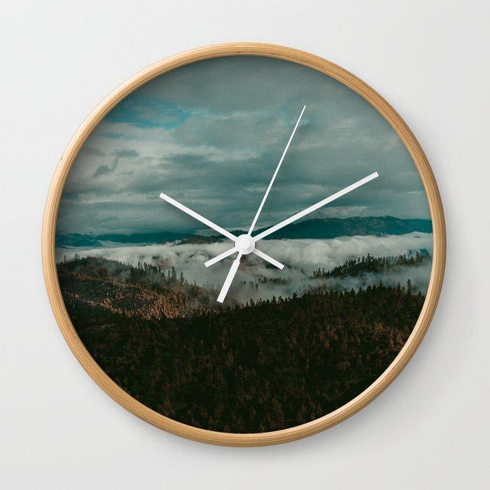 Autumn Wilderness Wall Clock