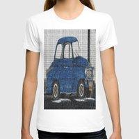 cuba T-shirts featuring Cuba Car by Sartoris ART