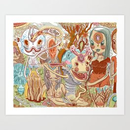 WHEREABOUTS Art Print