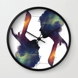 Stellar Girl Wall Clock