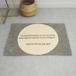 Conventionality is not morality. Rug