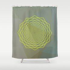 Geometrical 002 Shower Curtain