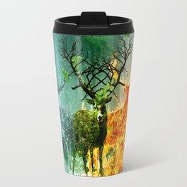 Nature Deers Travel Mug