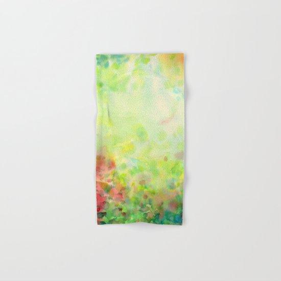 Green Mystical Spring Hand & Bath Towel