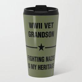 WWII Grandson Heritage Travel Mug