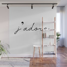j'adore Wall Mural