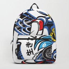 Sonic Hair Backpack