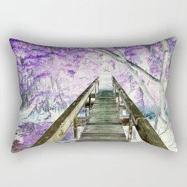 Bridge on Sapelo Rectangular Pillow