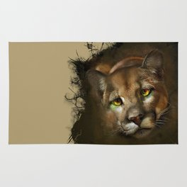 The cougar Rug