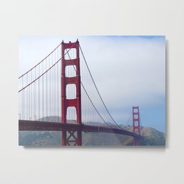 Golden Gate Bridge - San Francisco, California Metal Print