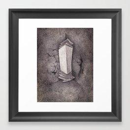 Life's Paperwork Framed Art Print