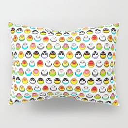 Lovebird colour mutations Pillow Sham