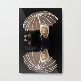 fashion doll's umbrella Metal Print