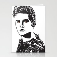 stiles stilinski Stationery Cards featuring Stiles Stilinski Teen Wolf Design by ShondraHilliard.com