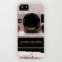 Pronto B Land Camera, 1977 iPhone Case