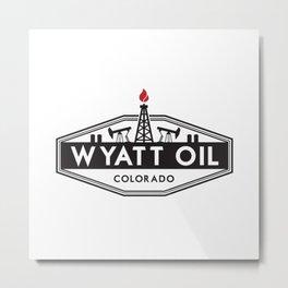 Wyatt Oil Metal Print