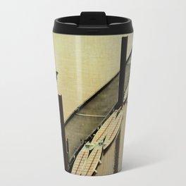 Rowing on the River Travel Mug