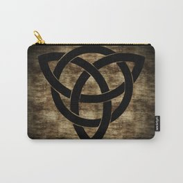 Wooden Celtic Knot Carry-All Pouch