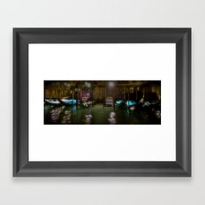Nights in Venice Framed Art Print