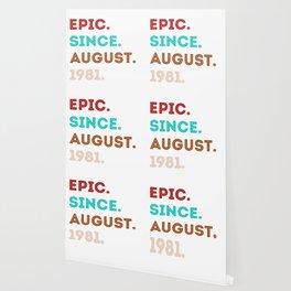 Epic Sience August 1981 - eighties style retro Wallpaper