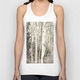 She Was a Trailer Park Girl at Heart - B&W Unisex Tank Top