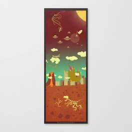 The end of the world as we know it! Canvas Print