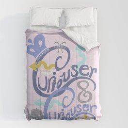 Curiouser & Curiouser (Pink) Comforters