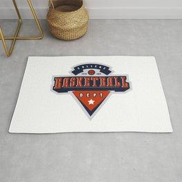Basketball college dept Rug