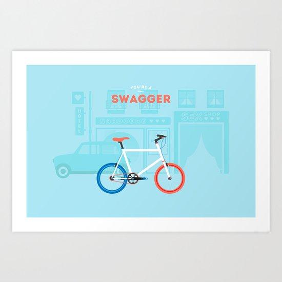 Swagger Art Print