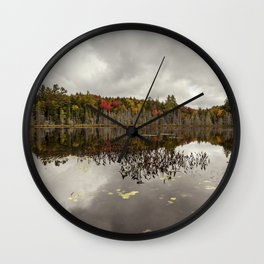 a pond Wall Clock