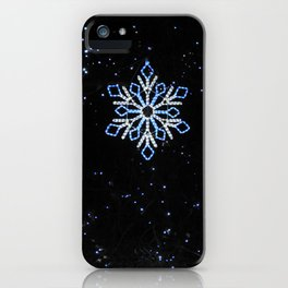 Ice Blue Light - Selective Coloring iPhone Case