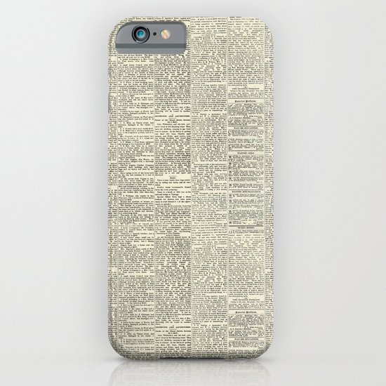 Newsie iPhone & iPod Case