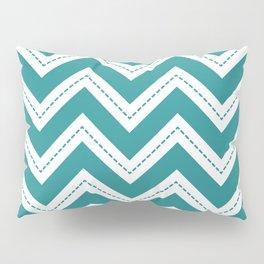 Turquoise Chevron Pillow Sham